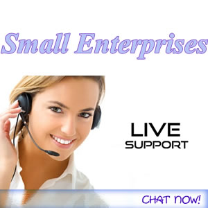 Small Enterprises live-chat-support